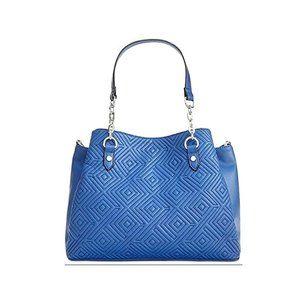 INC International Concepts Satchel Blue Handbag